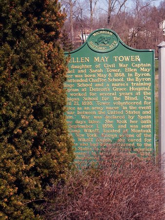 Ellen May Tower Spanish-American War Nurse