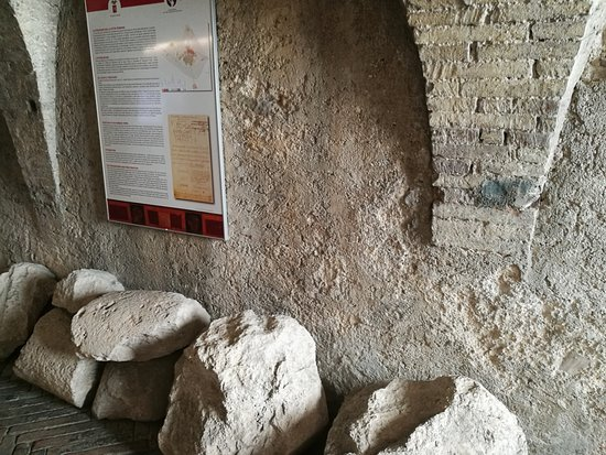 Casa Romana di Vespaia Polla : ingresso della casa
