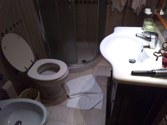 Nuovo Hotel Quattro Fontane: Ajustado y el duchador dificil para entrar y salir