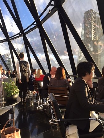 Searcys at The Gherkin: Great dessert