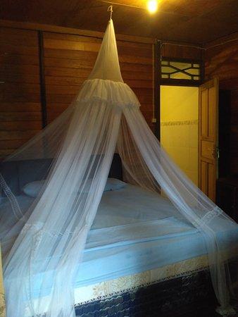 Daniel's Resort aka Daniel's Homestay: kamar dengan kelambu