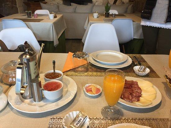 Granxa, Испания: Desayuno natural buenisimo