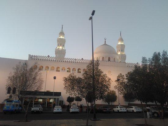 مسجد القبلتين: qiblatain sebelum matahri terbenam