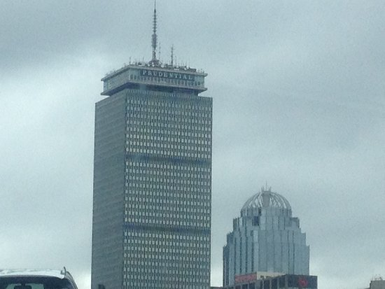 Top of the Hub: The Pru... the restaurant is at the top