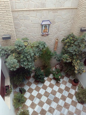 Benameji, إسبانيا: Patio interior