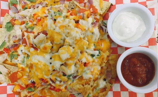 Pictou, Kanada: nachos with chicken