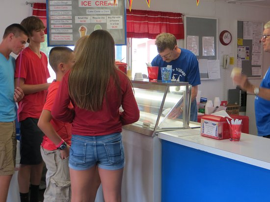 Milford, IA: Delicious flavors of hand-dipped ice cream!