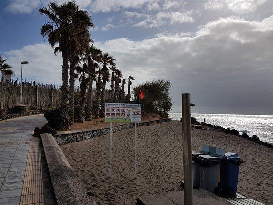 Telde, Spain: Foto sacada desde el paseo marítimo.