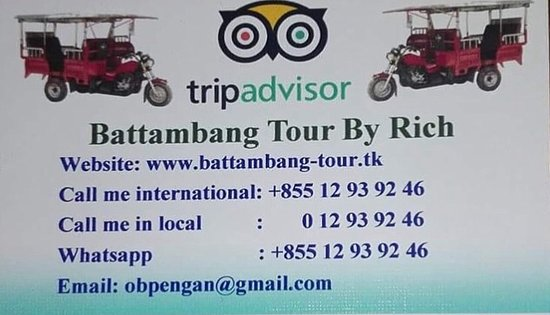 Battambang Tour By Rich