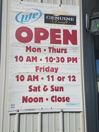 New York Mills, MN: Business Hours.