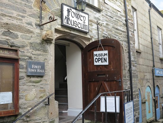 Entrance to Fowey Museum
