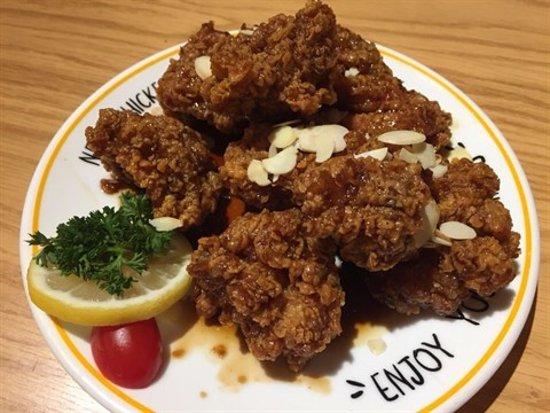 NeNe Chicken (Kwai Fong): 蒜味炸雞