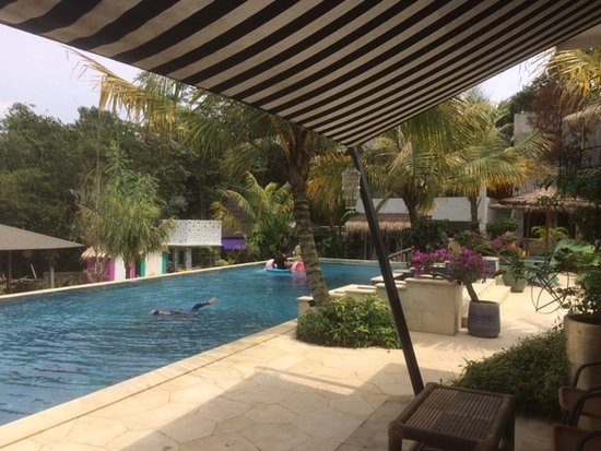 Ciawi, Indonezja: view from villa 2