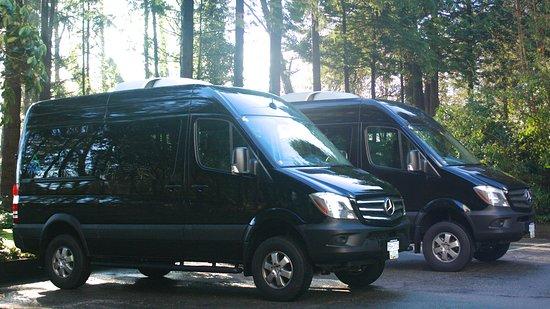 North Vancouver, Canadá: Nuestros vehículos listos para la aventura.