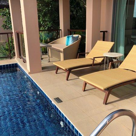 Excellent sala pool villa, amazing service