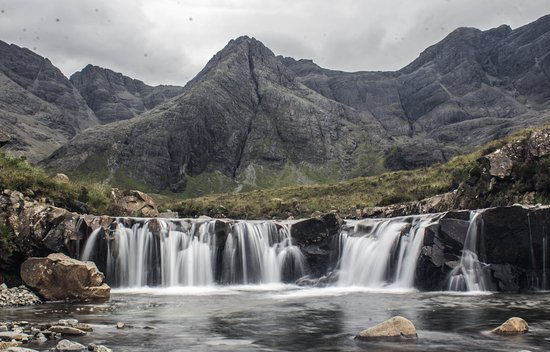 Largs, UK: Fairy Pools, Isle of Skye