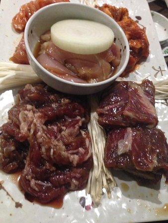 Melbourne Dae Jang Geum Korean BBQ: Raw meat