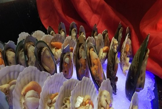 Seberang Jaya, Malaysia: food dinner when in hotel with style seafood in chines new year