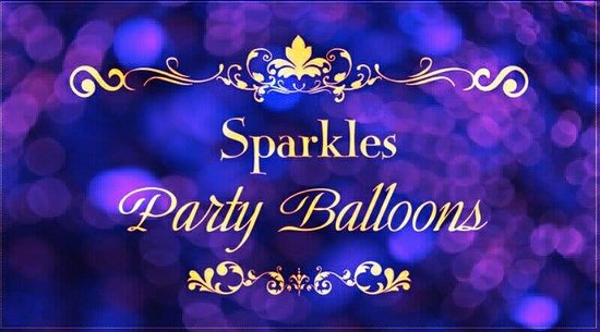 Sparkles Party Balloons & Sparkles Beauty Box