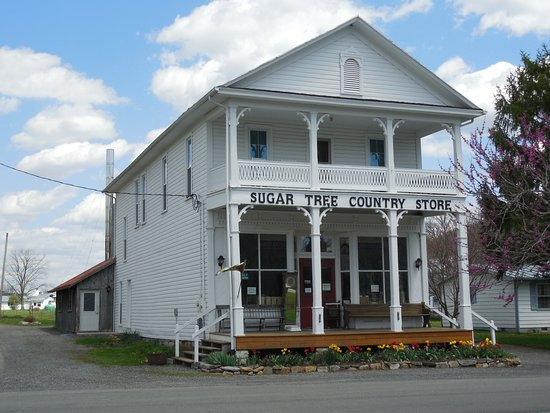 McDowell, VA: Spring Time at Sugar Tree Country Store