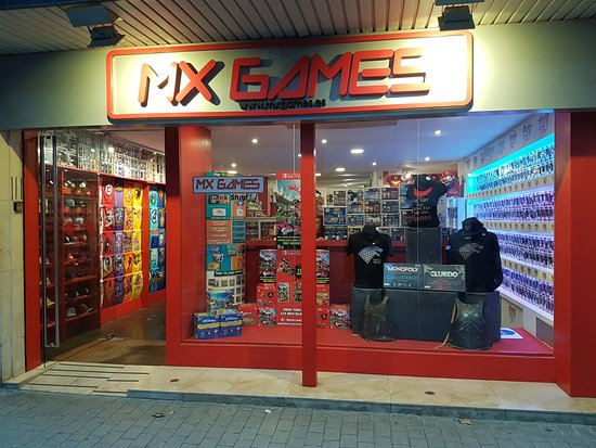 Mx Games Geek Shop