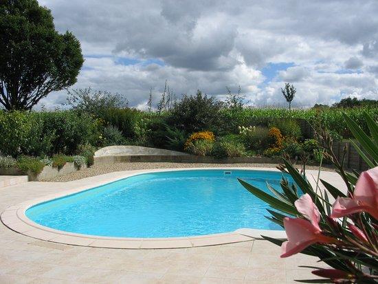 Poitou-Charentes, France : la piscine chauffée de 10m x5m