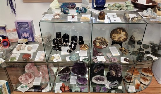 Goderich, Canada: Crystals & Gemstones! Many more in store + over 80 kinds of tumbled stones