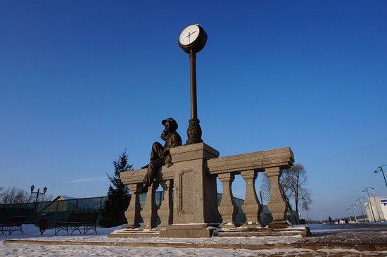 Ruza, רוסיה: памятник Мишке Карасю