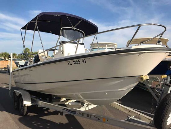 Alligator Point, Floryda: Our New Boston Whaler Fishing Boat