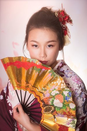 Kimono Photo Studio Wasabi Osaka Photo