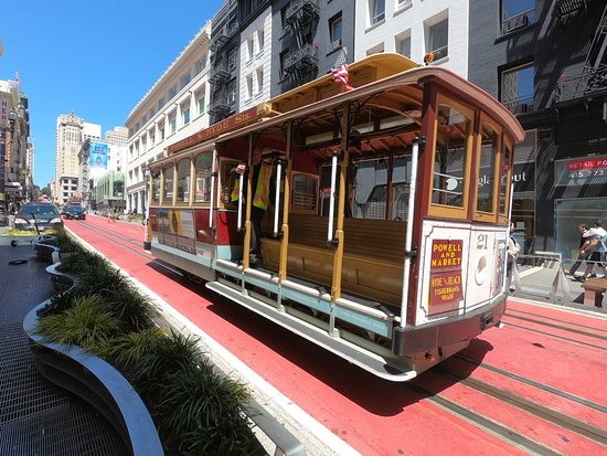 ‪Powell and Market Cable Car Turnaround‬