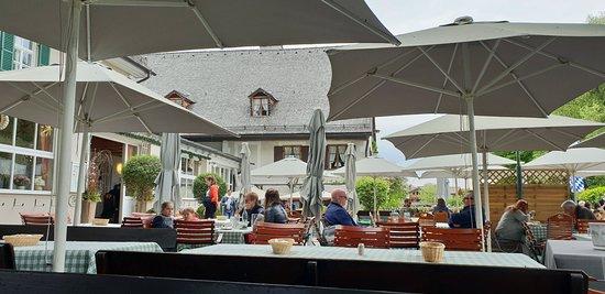 Inselhotel zur Linde: Die Terrasse