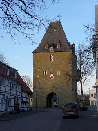 Soest, View on Osthofentor from Osthofenstrasse