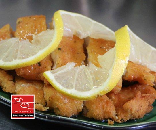 Pollo al limón 🐤🍋 cocinado respetando la receta tradicional china