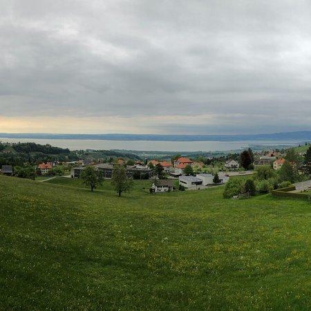 Heiden, Switzerland: Blick aus dem Zimmerfenster