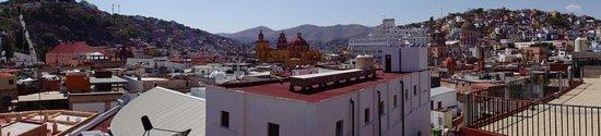 Casa De Pita: View from upper terrace