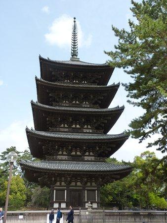 Pagoda del templo Kofukuji.