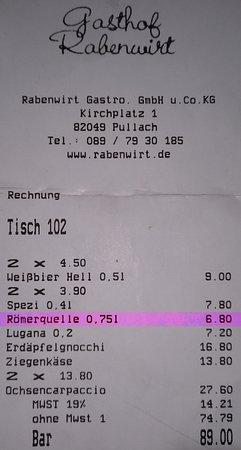 Pullach im Isartal, Allemagne : Ich gehe davon aus, dass die Markierung selbsterklärend ist !