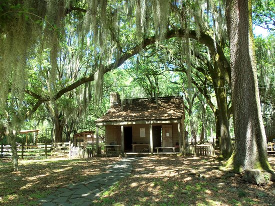 Destrehan Plantation: one of the out buildings