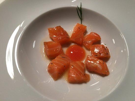 Marques de Murrieta : Salmon y papaya para el maridaje del Pazo barrantes