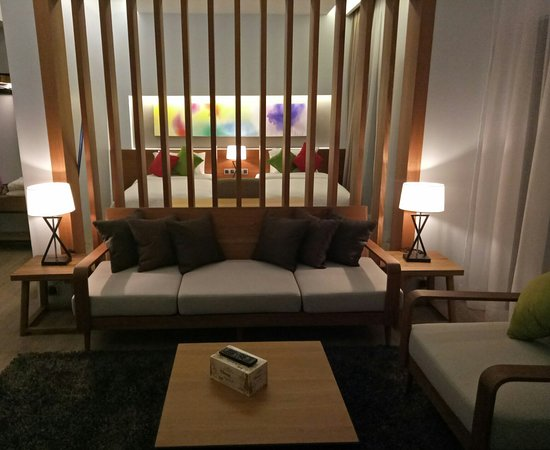 Mimpi Perhentian: Living area Premier Suite Room