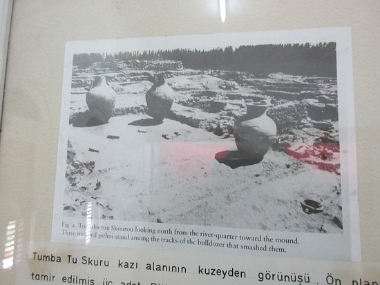 Guzelyurt, Cyprus: photo where some exhibits found