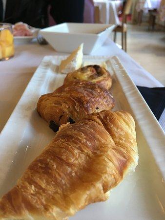 Hotel Restaurant La Mere Poulard: Café da manhã