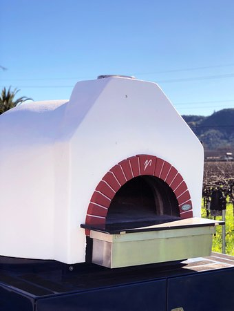 Rutherford, CA: Our pizza oven is available upon request.