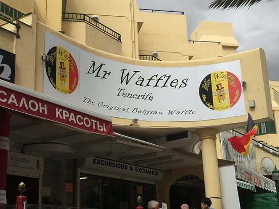 Mr. Waffles: the place to eat waffels