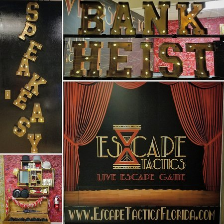 Fort Myers, FL: Exciting 1920s Themed Escape Rooms.  A Gangster Good Time!!
