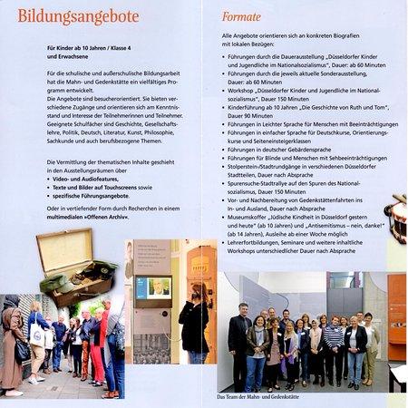 パンフレットです独英版のみのようです Foto Van Mahn Und