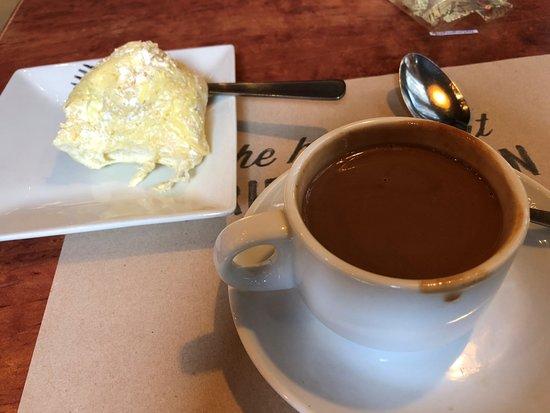 Max's Restaurant - Scout Tuazon: yummy ensemada and hot tsokolate