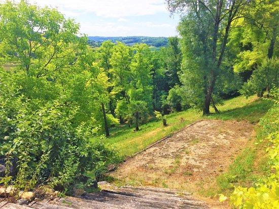 Les Terrasses de Belves : Areas verdes del hotel