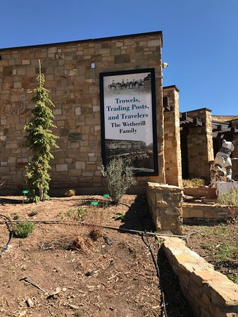 The Anasazi Heritage Center: The side of the center
